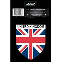 1 ADHESIF  PAYS  BLASON UNITED KINGDOM