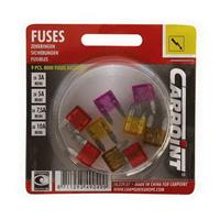 9 MINI FUSIBLES ASSORTIS