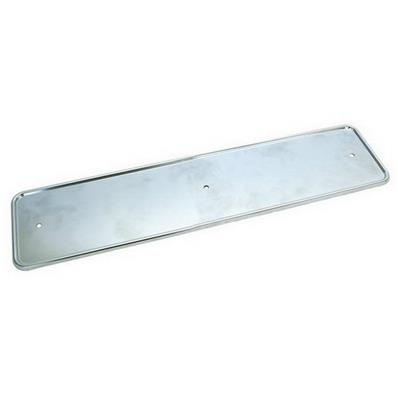 SUPPORT PLAQUE D'IMMATRICULATION UNIVERSEL INOX