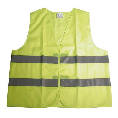 GILET DE SECURITE REFLECHISSANT JAUNE DRESCO